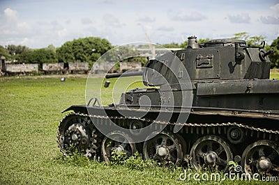 Tank from WW2 era