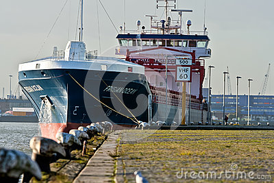 Tanker Ship Editorial Stock Image