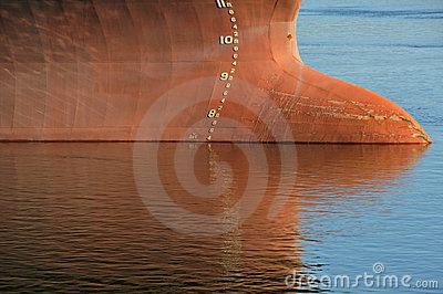 Tanker waterline