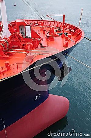 Tankfartyg för olja för gasgrudeindustri