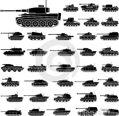Free Tanks Royalty Free Stock Photography - 18542717