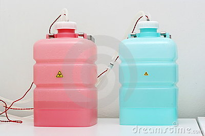 Tanks for distilled water