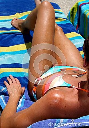Tanned Sunbather