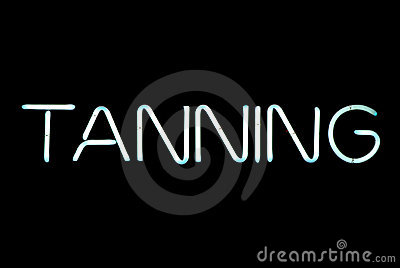 Tanning Neon Sign