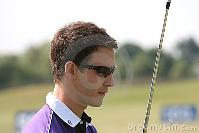 Tano Goya (arg) Golf French Open 2009 Editorial Stock Photo