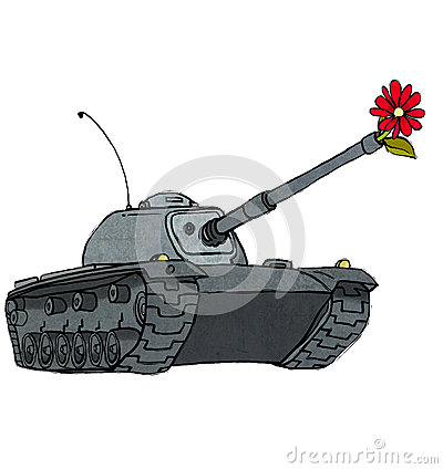 Tanque & flor