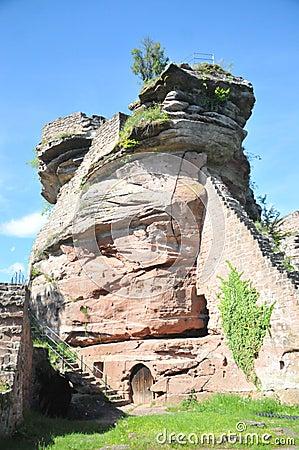 Tanstein castle ruin