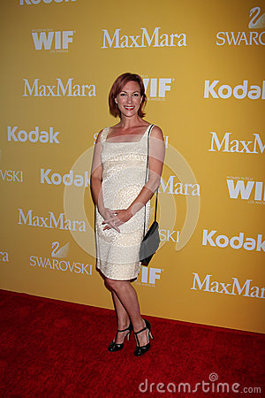 Tanya Franks arrives at the City of Hope s Music And Entertainment Industry Group Honors Bob Pittman Event Editorial Photography