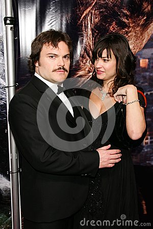 Tanya Haden,Jack Black Editorial Photo