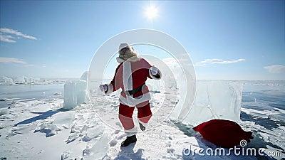 Tanzen Weihnachtsmann