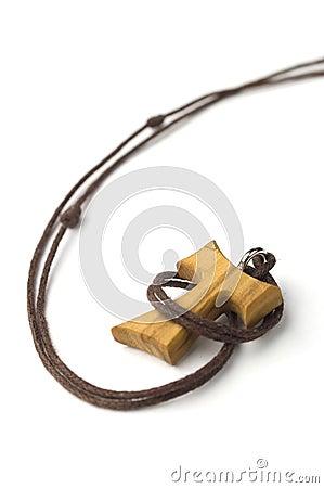 Tao Christian Cross Isolated