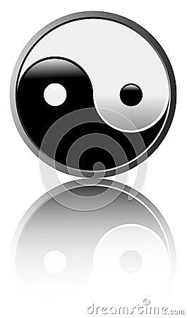 Tao symbol - White background