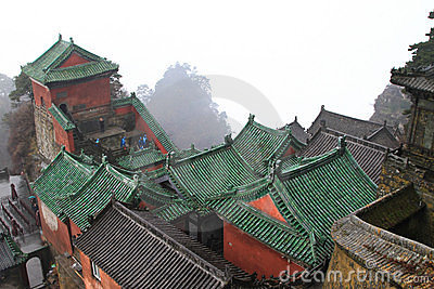 Taoist Buildings in china