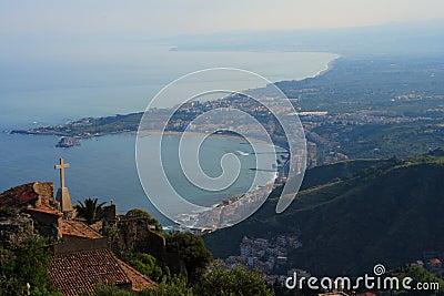 Taormina bay (sicily)