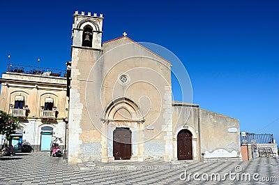 Taormina Church of Saint Augustine, Sicily