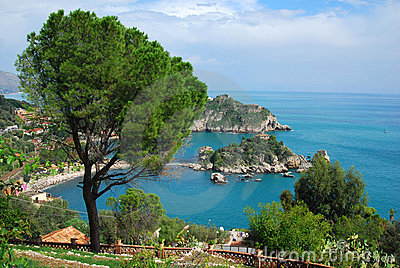 Taormina and Isola Bella (Sicily)