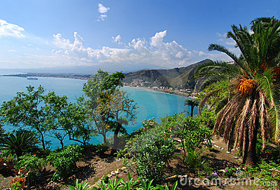 Taormina Landscape / Sicily Royalty Free Stock Photo - Image: 11413645