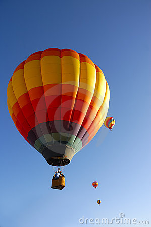 Free Taos Hot Air Balloon Festival Stock Photography - 8051712