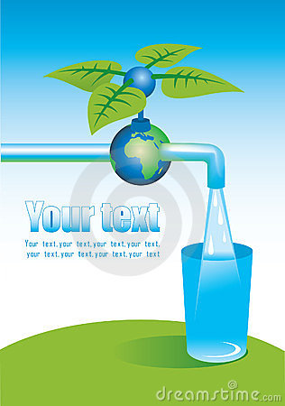 Tap with clean water