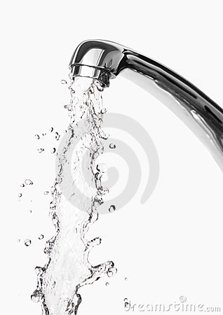 Free Tap Of Running Water Royalty Free Stock Photos - 11256288