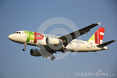 TAP Portugal Airlines aircraft Editorial Photo