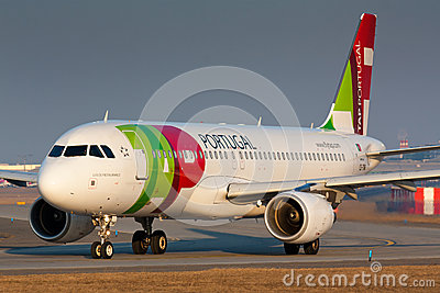 A320 TAP Editorial Photo