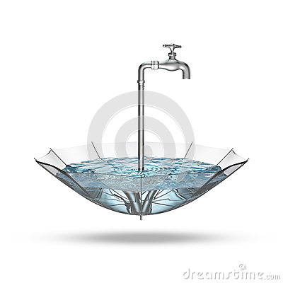 Free Tap Umbrella Royalty Free Stock Photos - 44328418