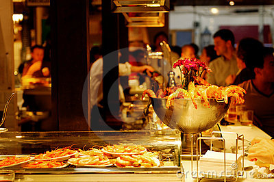 Tapas Editorial Stock Photo