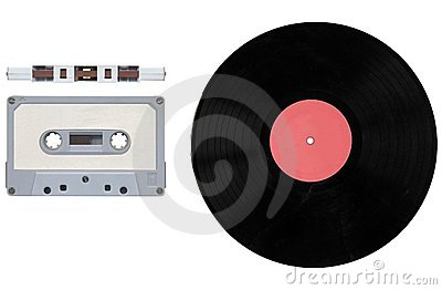 Tape cassette and record