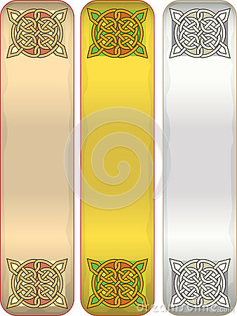 Tape with celtic an ornament
