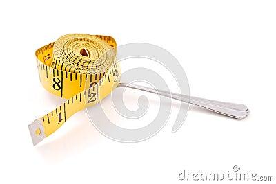 Tape Measure on Spoon