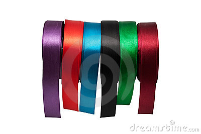 Tapes of different colour