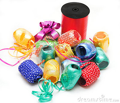 Tapes and paper for present
