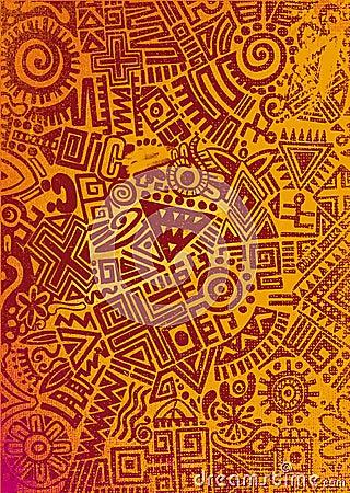 tapis mexicain illustration stock image 42745340. Black Bedroom Furniture Sets. Home Design Ideas