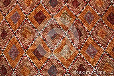 tapis tunisien margoum photo stock image 43858259. Black Bedroom Furniture Sets. Home Design Ideas