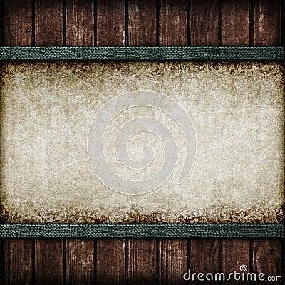 Tappningbakgrund. Papper och bräden.