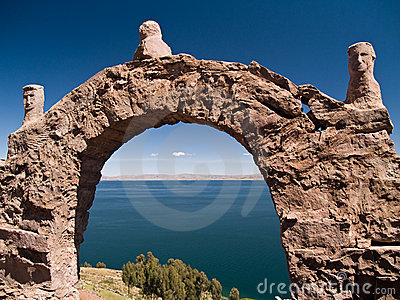 Taquile Island on Lake Titicaca