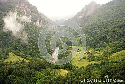 Tara river canyon (Montenegro )