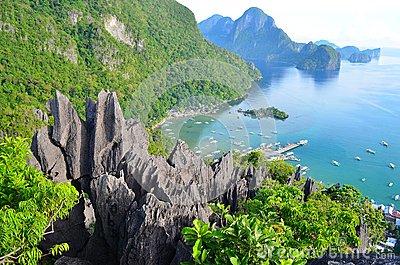 Taraw Cliff of El Nido