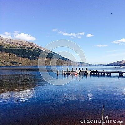Free Tarbet, Loch Lomond Royalty Free Stock Photo - 53364325