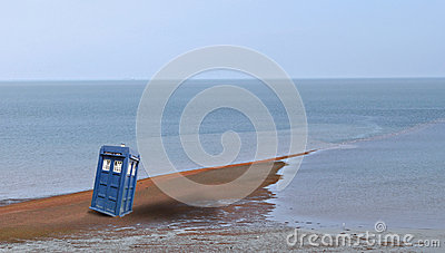 Tardis arrives on earth