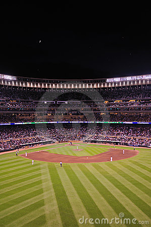 Free Target Field At Night Stock Images - 14772374
