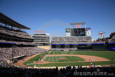 Target Field - Minnesota Twins Editorial Photography
