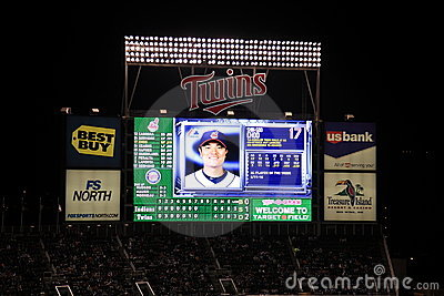 Target Field - Minnesota Twins Editorial Photo