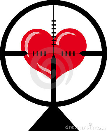 The target is heart