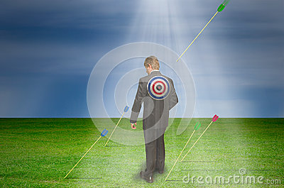 Target market bullseye marketing success