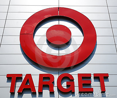 Target Sign Editorial Photo
