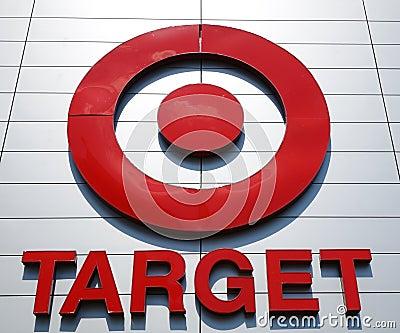Target Sign Editorial Photo