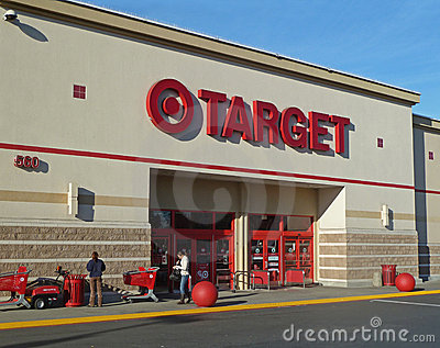 Target store entrance Editorial Stock Photo
