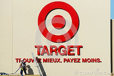 Target stores Editorial Image